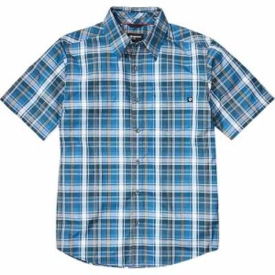 マーモット Marmot メンズ 半袖シャツ トップス Lykken Short - Sleeve Shirt Varsity Blue