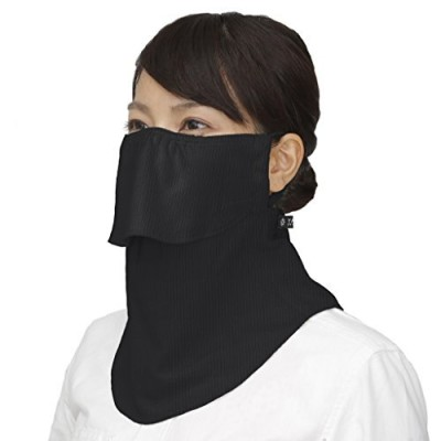 MARUFUKU ヤケーヌ ヤケーヌスタンダード 560 ブラック UVカットマスク フェイスマスク uv フェイスカバー 洗える マスク通販 マスク 日焼け防止マスク 夏マスク 涼しい uvカット