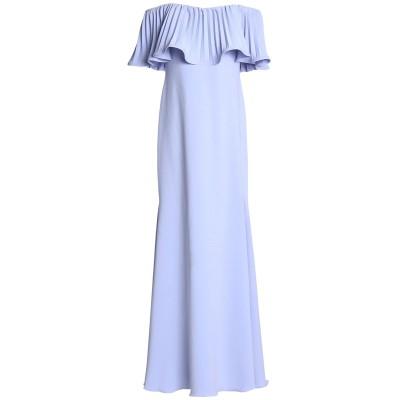 BADGLEY MISCHKA ロングワンピース&ドレス ライラック 8 ポリエステル 98% / ポリウレタン 2% ロングワンピース&ドレス