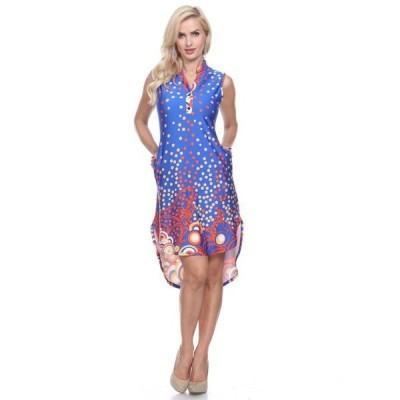 ホワイトマーク レディース ワンピース トップス Women's Zuri Dress