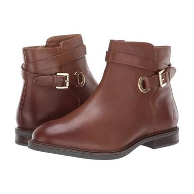 ハッシュパピー Bailey Strap Boot レディース ブーツ Dachshund Leather