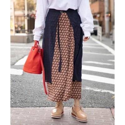 スカート (B.B)レイヤード2Wayスカート