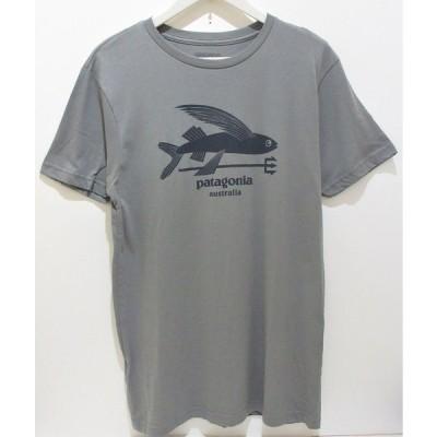 パタゴニア patagonia【オーストラリア限定】Tシャツ・半袖・Flying Fish LW Cotton・Feather Grey