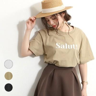 Tシャツ 大人女子 ゆったり カラー ロゴ Tシャツ ロゴt おしゃれ 半袖 レディース ユニセックス 新作