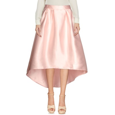 ONLY 7分丈スカート ライトピンク 42 100% ポリエステル 7分丈スカート