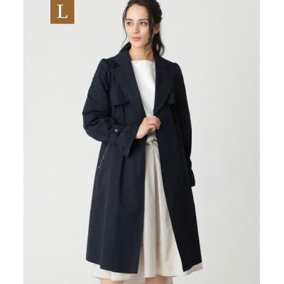 TO BE CHIC / 【L】綿ナイロンツイルラップコート WOMEN ジャケット/アウター > トレンチコート