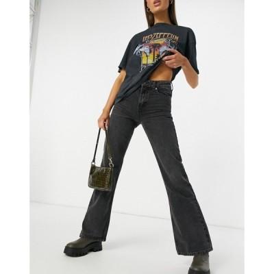 トップショップ Topshop レディース ジーンズ・デニム スキニー ボトムス・パンツ Zed skinny jeans in black ウォッシュブラック