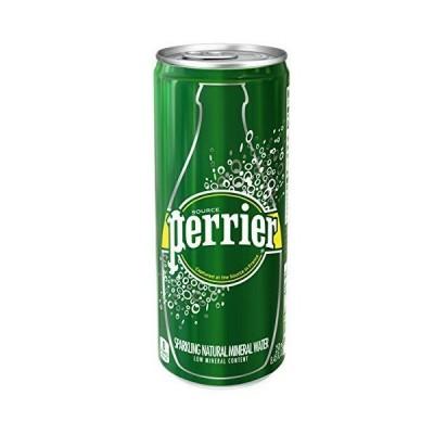 ペリエ (Perrier) オリジナル 炭酸水 缶 250ml 「直輸入品 ×30本
