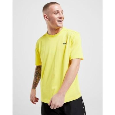 ラコステ Lacoste メンズ Tシャツ トップス Croc Logo Short Sleeve T-Shirt yellow