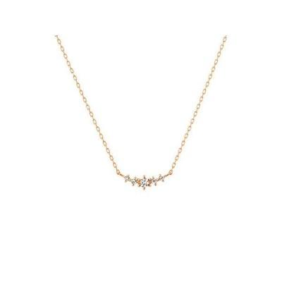 カナルヨンドシー ダイヤモンドネックレス 4℃ 新品正規品 K10ピンクゴールド ネックレス ヨンドシー canal4℃ 151336123118 正規ラッピング