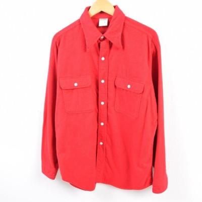 BIG MAC ビッグマック 長袖 ヘビーネルシャツ メンズL /wbg3061
