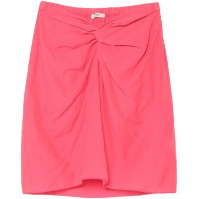 ヒューマノイド HUMANOID ひざ丈スカート フューシャ XS コットン 82% / ナイロン 18% ひざ丈スカート