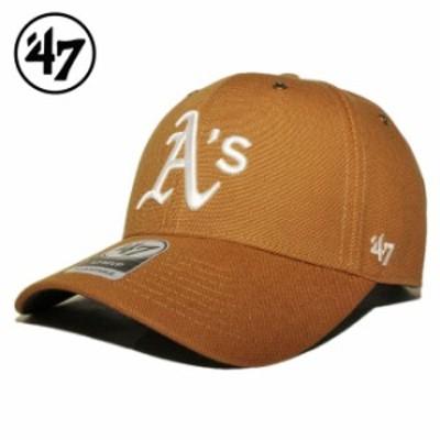 47ブランド カーハート コラボ ストラップバックキャップ 帽子 メンズ レディース 47BRAND CARHARTT MLB オークランド アスレチックス フ