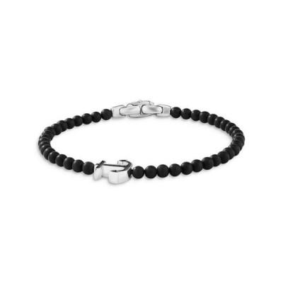 デイビット・ユーマン レディース ブレスレット・バングル・アンクレット アクセサリー Spiritual Beads Anchor Bracelet with Black Onyx