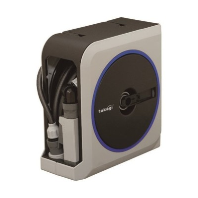 ホースリール タカギ NANO NEXT 15m(GY) [RM1215GY] RM1215GY  販売単位:1 送料無料