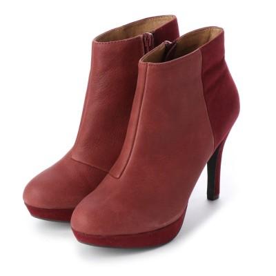 シューズラウンジ shoes lounge ショートブーツ 6011024RBR (レッド)