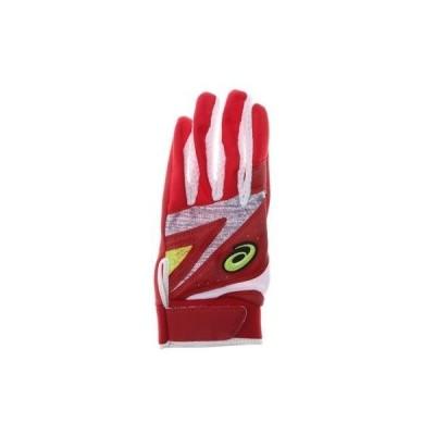アシックス asics メンズ 野球 バッティング用手袋 守備用カラー手袋 3121A468
