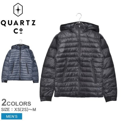 ( 40%クーポン配布 ) クオーツコー ライトダウンジャケット メンズ LANS 37610 アウター 防寒 長袖 上着 ブランド 冬 QUARTZ Co. 服