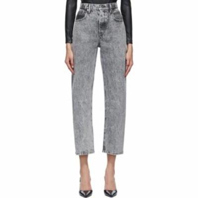 アレキサンダー ワン Alexander Wang レディース ジーンズ・デニム ボトムス・パンツ grey curb jeans Light grey