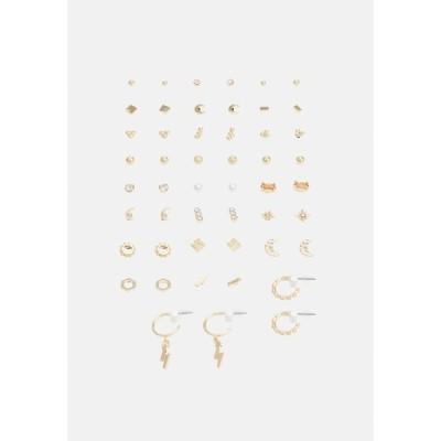 モンキ ピアス&イヤリング レディース アクセサリー Earrings - gold-coloured