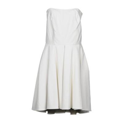 ジジル JIJIL ミニワンピース&ドレス ホワイト 42 ポリエステル 64% / ポリウレタン 36% ミニワンピース&ドレス