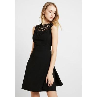 ヴァル ジー ワンピース レディース トップス BUST SKATER DRESS - Day dress - black