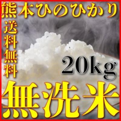 米 20kg 九州 熊本県産 ひのひかり 無洗米 令和元年産 ヒノヒカリ 送料無料 5kg4個 精白米 くまもとのお米
