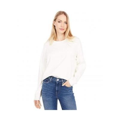 Lilla P リラP レディース 女性用 ファッション Tシャツ Modern Classics Easy Seamed Tee - Winter White