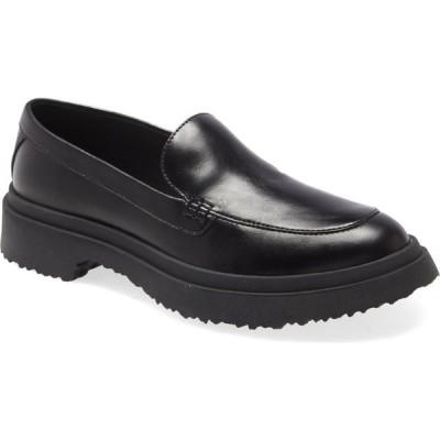 カンペール CAMPER レディース ローファー・オックスフォード シューズ・靴 Walden Loafer Black Leather