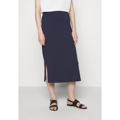 エスオリバー スカート レディース ボトムス Pencil skirt - dark steel blue