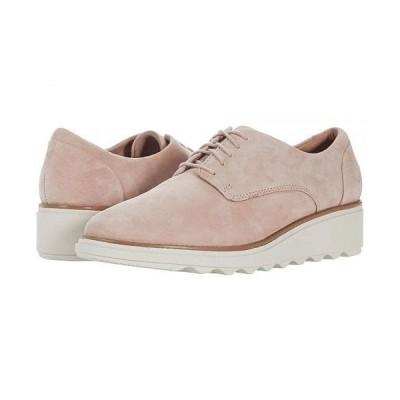 Clarks クラークス レディース 女性用 シューズ 靴 オックスフォード ビジネスシューズ 通勤靴 Sharon Noel - Matte Pink Suede