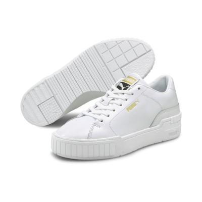 プーマ PUMA スニーカー カリ スポーツ クリーン ウィメンズ  (Puma White-Puma White) 21SP-I