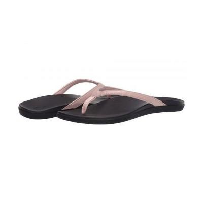 Olukai オルカイ レディース 女性用 シューズ 靴 サンダル Ho'opio - Petal Pink Metallic/Black