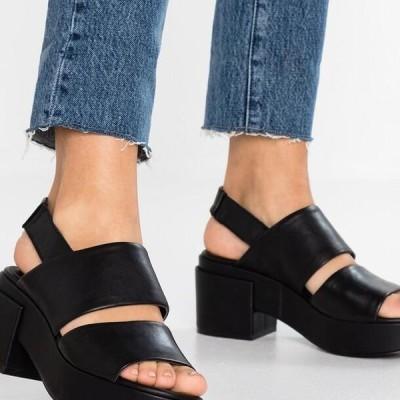 レディース サンダル GARDA - Platform sandals - black