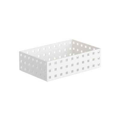 小物入れ 収納ケース ブリックス 9002 ホワイト (210 ミドルM)