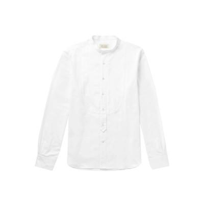 MAN 1924 シャツ ホワイト S コットン 100% シャツ