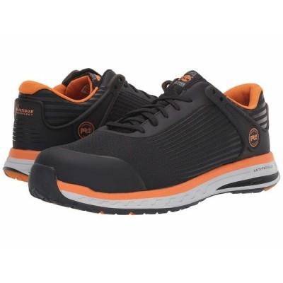 ティンバーランド スニーカー シューズ メンズ Drivetrain Composite Safety Toe Black/Orange