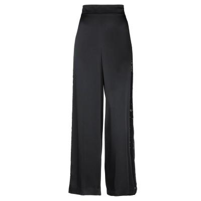 CLIPS パンツ ブラック 42 アセテート 82% / レーヨン 18% / ポリエステル / ナイロン パンツ