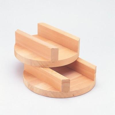 【白木】お釜の蓋 小