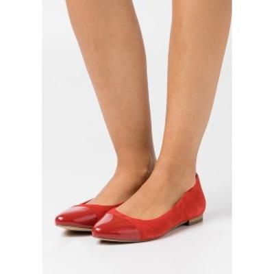 カプリス レディース パンプス シューズ Ballet pumps - red special red special