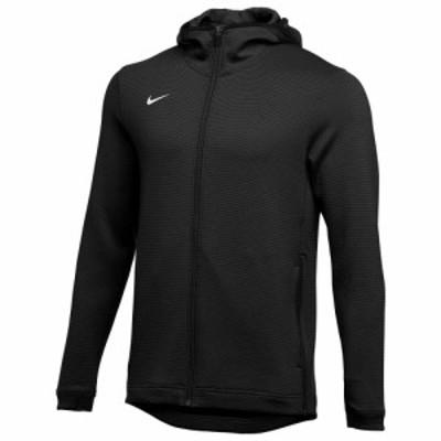 ナイキ Nike メンズ フィットネス・トレーニング パーカー トップス Team Thermaflex Showtime Full-Zip Hoodie Black/White