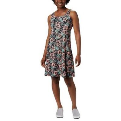 コロンビア レディース ワンピース トップス Columbia Women's Freezer III Dress Black Vacay Vibes Print