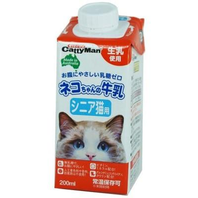 ドギーマン ネコちゃんの牛乳 シニア猫用 200ml