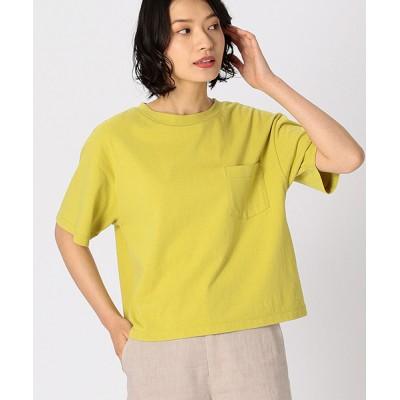 COMME CA ISM / ポケット付Tシャツ WOMEN トップス > Tシャツ/カットソー