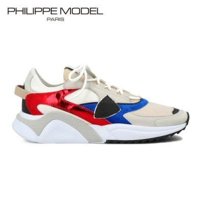 PHILIPPE MODEL フィリップモデル EZE MONDIAL METAL メンズ EZLU-WM03 レザー スニーカー エズ  厚底 ダッドスニーカー イタリア製