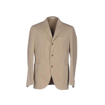 ボリオリ BOGLIOLI テーラードジャケット ベージュ 52 コットン 98% / ポリウレタン 2% テーラードジャケット