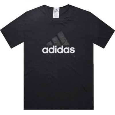 アディダス Adidas メンズ Tシャツ ロゴTシャツ トップス Tennis Ess Logo Tee solid grey