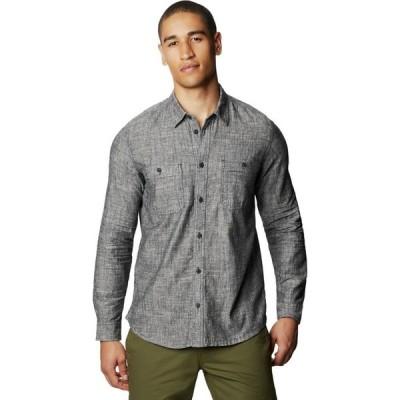 マウンテンハードウェア Mountain Hardwear メンズ シャツ トップス Piney Creek Long - Sleeve Shirt Dark Storm