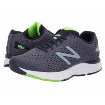 New Balance ニューバランス メンズ 男性用 シューズ 靴 スニーカー 運動靴 680v6 Pigment/RGB Green【送料無料】