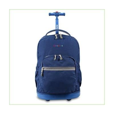J World New York Sunrise Rolling Backpack ブルー「並行輸入品」